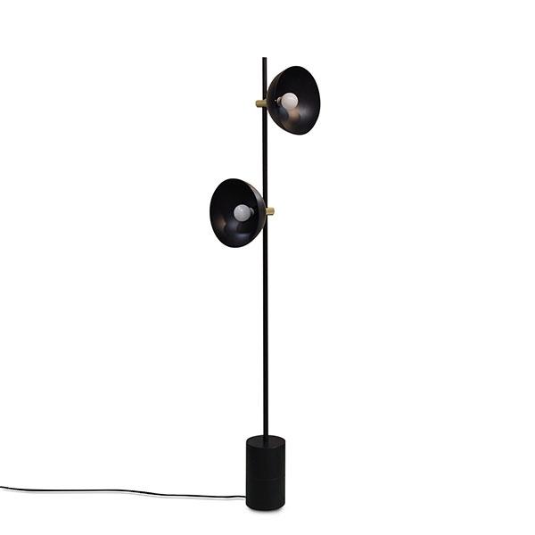 Handvark Studio Floor Lamp Black Brass Big Selection Of