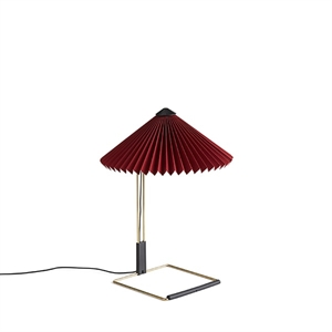 HAY Matin Table lamp Small Dark Red