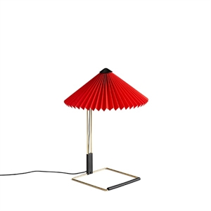 HAY Matin Table lamp Small Red