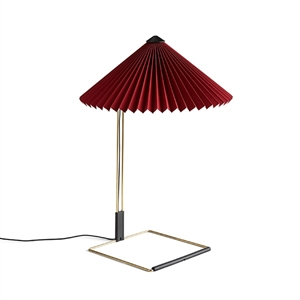 HAY Matin Table lamp Medium Dark Red