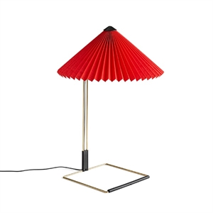 HAY Matin Table lamp Medium Red
