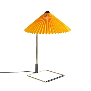 HAY Matin Table lamp Medium Yellow