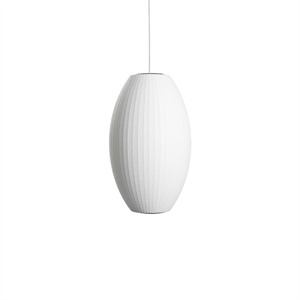 HAY Nelson Cigar Bubble Pendant Medium White