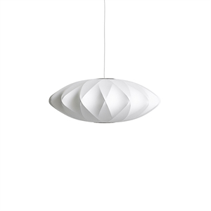 HAY Nelson Saucer Crisscross Bubble Pendant Medium White