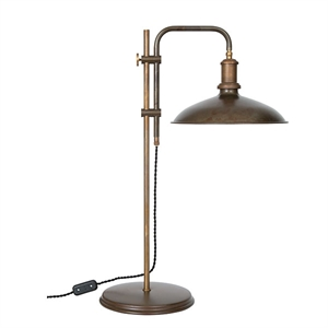 Konsthantverk Kavaljer Table Lamp - Iron oxide