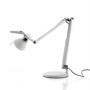 Luceplan Fortebraccio Table Lamp White
