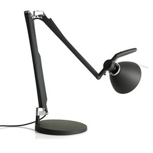 Luceplan Fortebraccio Table Lamp Black