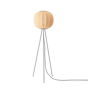 Made By Hand Knit-Wit Round Floor Lamp Tall