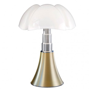 Martinelli Luce Pipistrello Table Lamp 1965 Brass