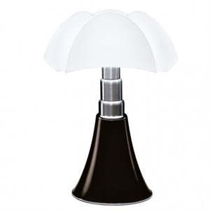 Martinelli Luce Pipistrello Table Lamp 1965 Dark Brown