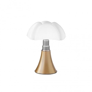 Martinelli Luce Mini Pipistrello 1965 Table Lamp Brass