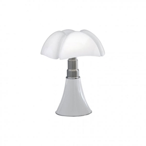Martinelli Luce Mini Pipistrello 1965 Table Lamp White Cordless