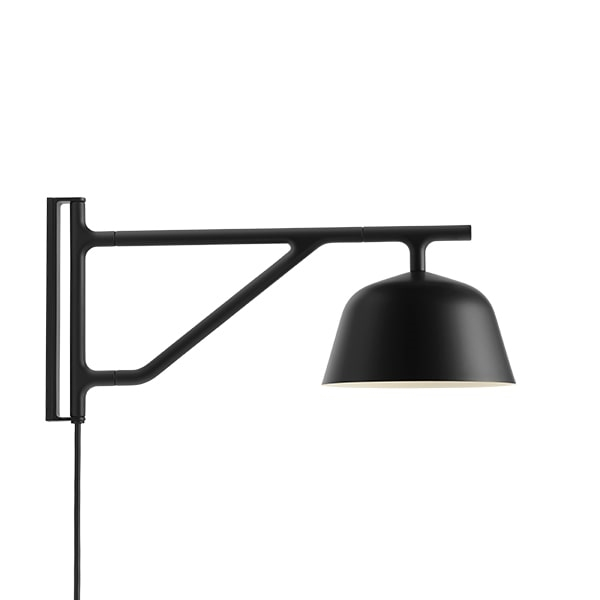 Muuto Ambit Wall Light Black - See here!