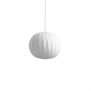 HAY Nelson Ball Crisscross Bubble Pendant Medium White