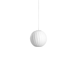 HAY Nelson Ball Crisscross Bubble Pendant Small White
