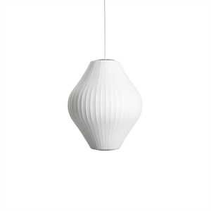 HAY Nelson Pear Bubble Pendant Medium White