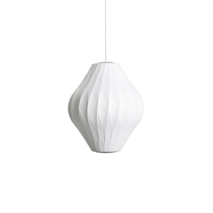 HAY Nelson Pear Crisscross Bubble Pendant Medium White