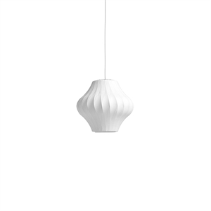 HAY Nelson Pear Crisscross Bubble Pendant Small White