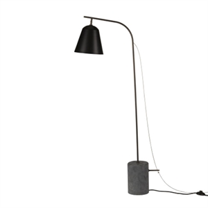 NORR11 Line One  Floor Lamp Black