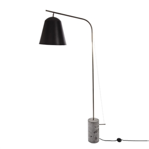 NORR11 Line Two  Floor Lamp Black