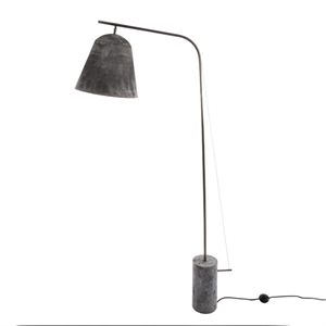 NORR11 Line Two Floor Lamp Oxidised