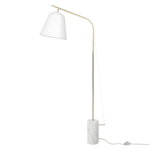 NORR11 Line Two Floor Lamp White