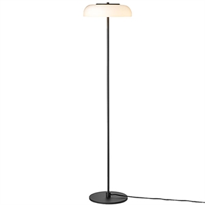 Nuura Blossi Floor Lamp Black/ Opal White