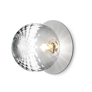 Nuura Liila Large Wall/Ceiling Lamp Silver/Transparent
