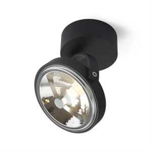Trizo 21 PIN-UP 1 Spot & Ceiling lamp Black