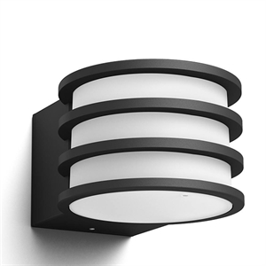 Philips Hue Lucca Outdoor Wall Light