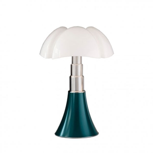 Martinelli Luce Pipistrello Medium 1965 Table Lamp Blue-Green