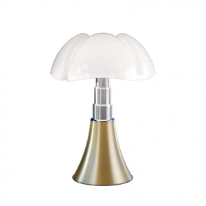 Martinelli Luce Pipistrello Medium 1965 Table Lamp Brass