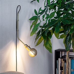 RestartMilano Wall Lamp Brass Short