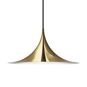 GUBI Semi Pendant Medium Brass