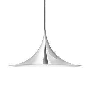 GUBI Semi Pendant Medium Chrome