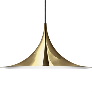 GUBI Semi Pendant Large Brass