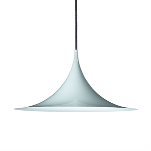 GUBI Semi Pendant Medium Blank Blue Grey