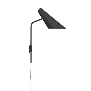 Vibia I.Cono Wall Light Adjustable Glossy Black