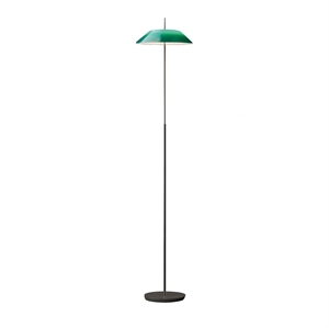 Vibia Mayfair Floor Lamp Glossy Green & Black