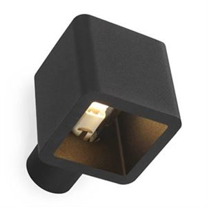 Trizo 21 Code Wall IN Wall lamp Black