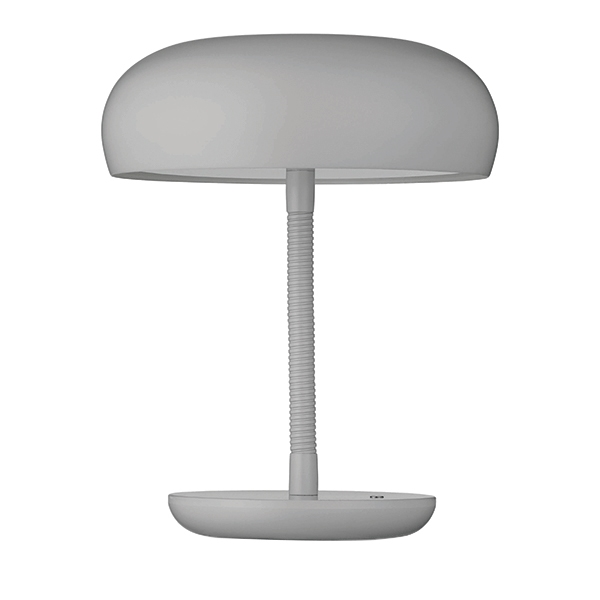 WATT A LAMP BEND Table Lamp Light Grey
