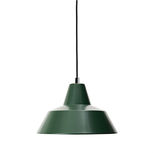 Made By Hand Workshop Lamp Pendant Racing Green W2