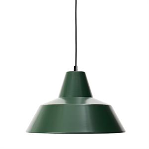 Made By Hand Workshop Lamp Pendant Racing Green W3