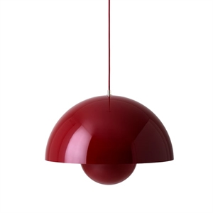 &tradition Flowerpot VP2 Pendant Dark Red