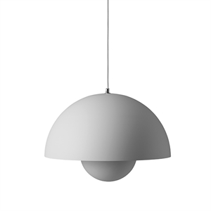 &tradition Flowerpot VP2 Pendant Matt Light Grey