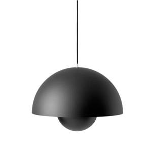 &tradition Flowerpot VP2 Pendant Matt Black