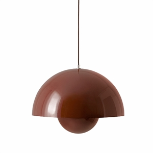 &tradition Flowerpot VP2 Pendant Red & Brown