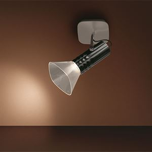Artemide FIAMMA LED Wall/Ceiling Lamp Black