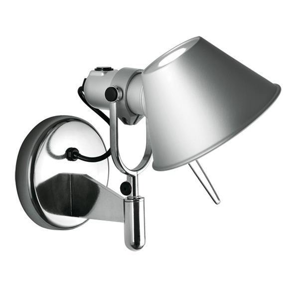 Artemide Tolomeo Faretto Wall Lamp with switch
