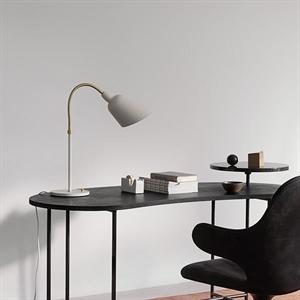 &tradition Bellevue AJ8 Table Lamp Black & Brass